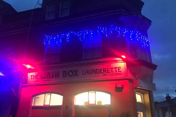 laundrette near reading uni